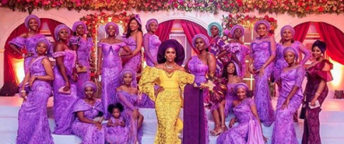 Aso Ebi Style: Slay At Your Next Owambe With These 4 Stunning Party-Ready Friend Styles 4