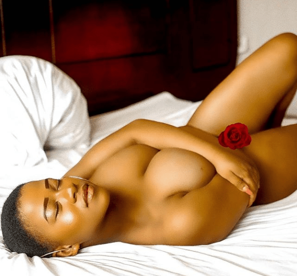 Boob Movement Founder Chioma Abby Poses Completely Naked In New Photo 2