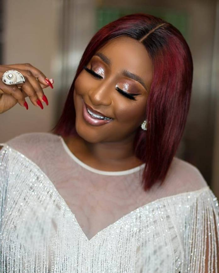 Celebrity Beauty Of The Day: Ini Edo Oozes Sexiness In A Beautiful White Gown 1