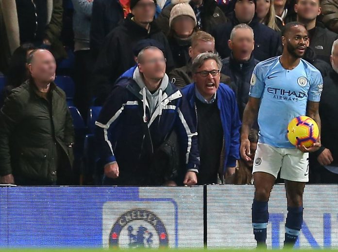 Racism: Chelsea Ban 4 Fans Who Racial Abused Raheem Sterling At Stamford Bridge 2