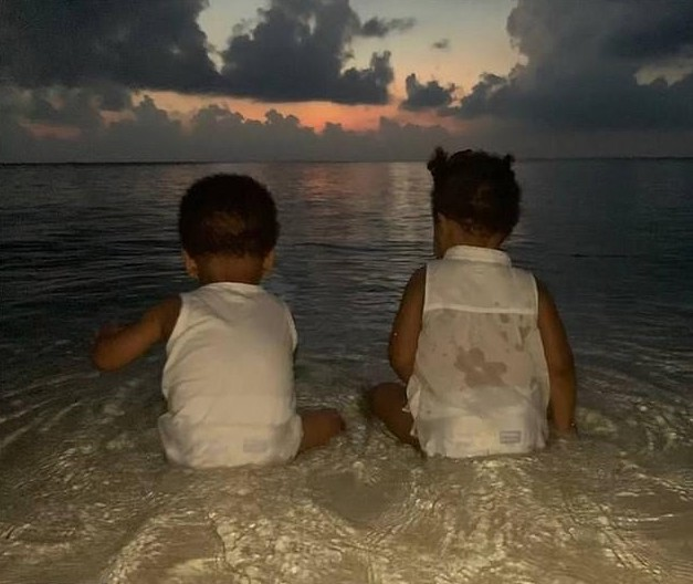 Singer Beyonce Shares Rare Photo Of Her Twins Sir And Rumi Carter 1