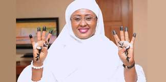 Buhari Approves 6 Aides For The First Lady