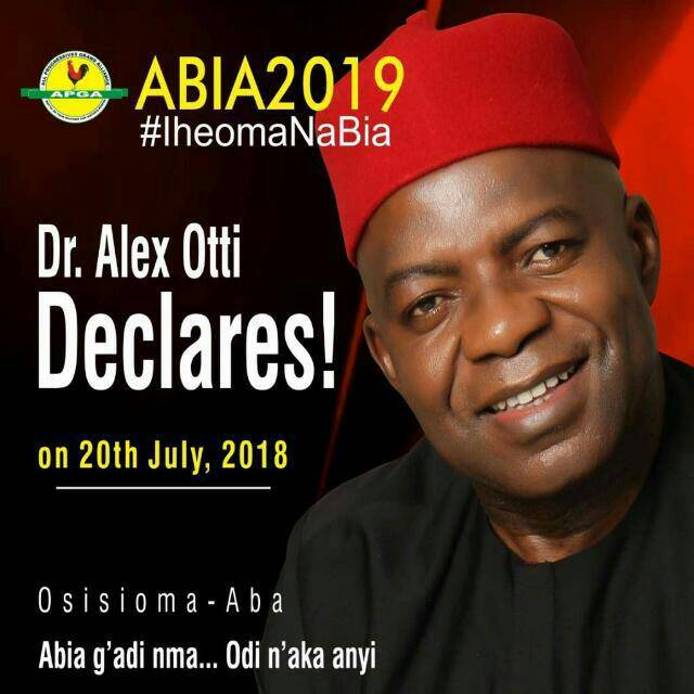 2019 Abia State Governorship Election: Meet Governorship Candidate, Alex Otti 3