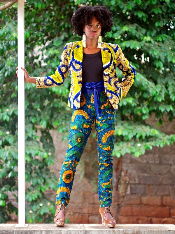 Ankara Style: Boss Up Your Fashion In These 5 Stunning Ankara Suits And Pants 3