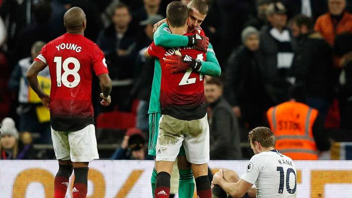 'This Is The Real Manchester United' - David De Gea Reacts After Red Devils Batter Tottenham  3