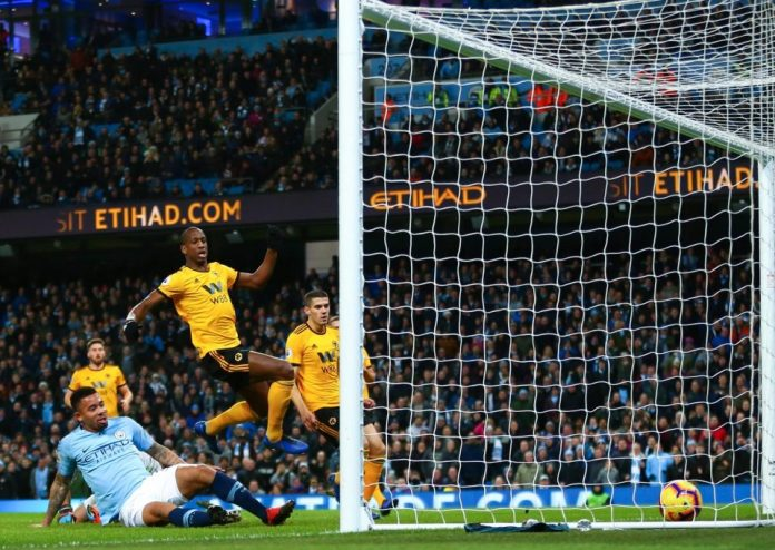 Manchester City 3 Wolves 0:Jesus' Double Reduces Liverpool's Lead At The Top To Four Points 1