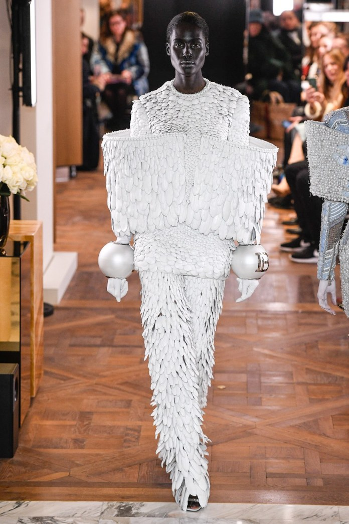 Paris Couture Fashion Week 2019: Balmain's Olivier Rousteing Redefines Couture With Invigorating Show 4
