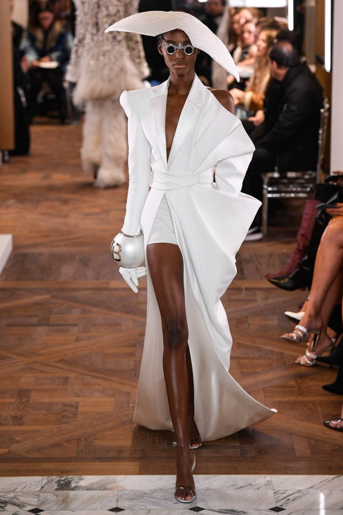 Paris Couture Fashion Week 2019: Balmain's Olivier Rousteing Redefines Couture With Invigorating Show 12