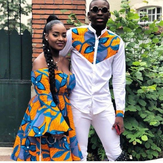 Ankara Style: Couple Up In These Five Adorable Co-ordinating Ankara Outfits 5