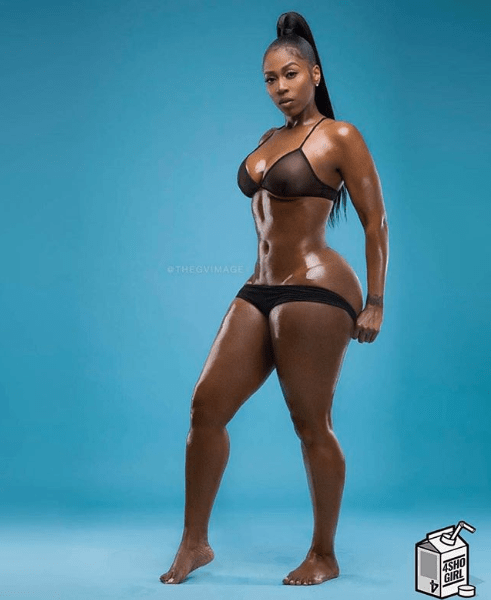 Curves On Fire! Kash Doll Is Smoking Hot In New Sizzling Photo 1