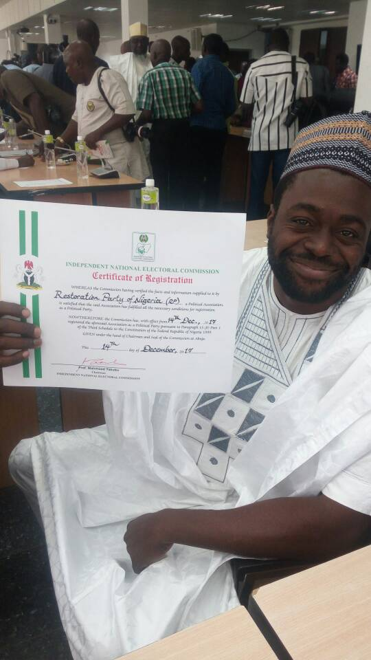 2019 Presidential Election: Meet Presidential Aspirant, Nsehe Nseobong 1