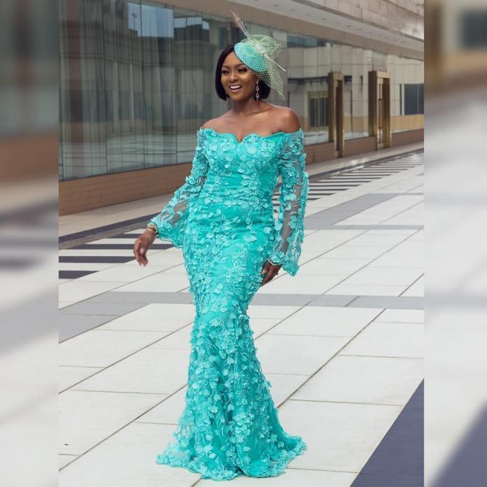 Aso Ebi Style: Five Times Osas Ighodaro Ajibade Sizzled In Stunning Styles 4