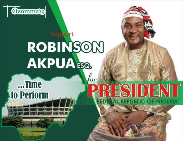 2019 Presidential Election: Meet Presidential Aspirant, Robinson Akpua 3