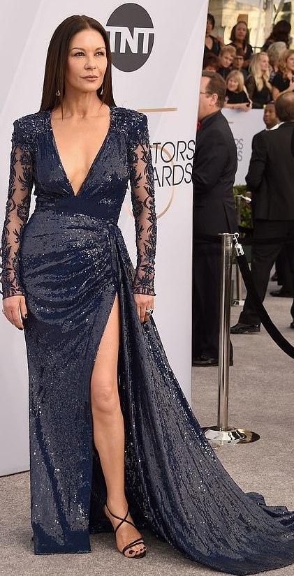 The Insider: Lady Gaga, Angela Bassett, Lupita Nyong'O Storm The Red Carpet Of The 2019 SAG Awards 5