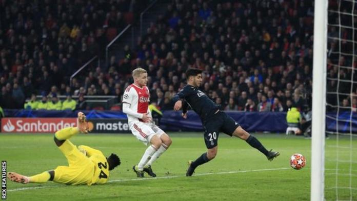 Ajax1 Real Madrid2: Asensio Scores Winner For Champions After VAR Disallowed Ajax Goal 1