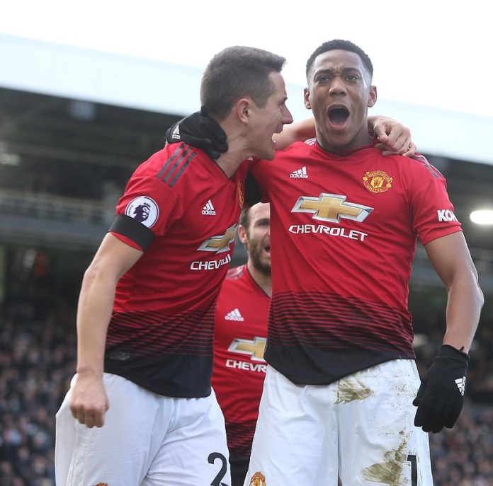 Fulham 0 Manchester United 3: Pogba Scores Twice Has Man United Returns to Top 4 Since August 1