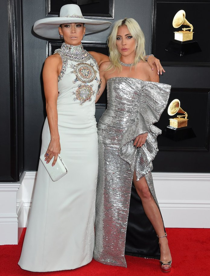 Jennifer Lopez Dazzles In Ralph & Russo Embellished Gown For The 2019 Grammys 2