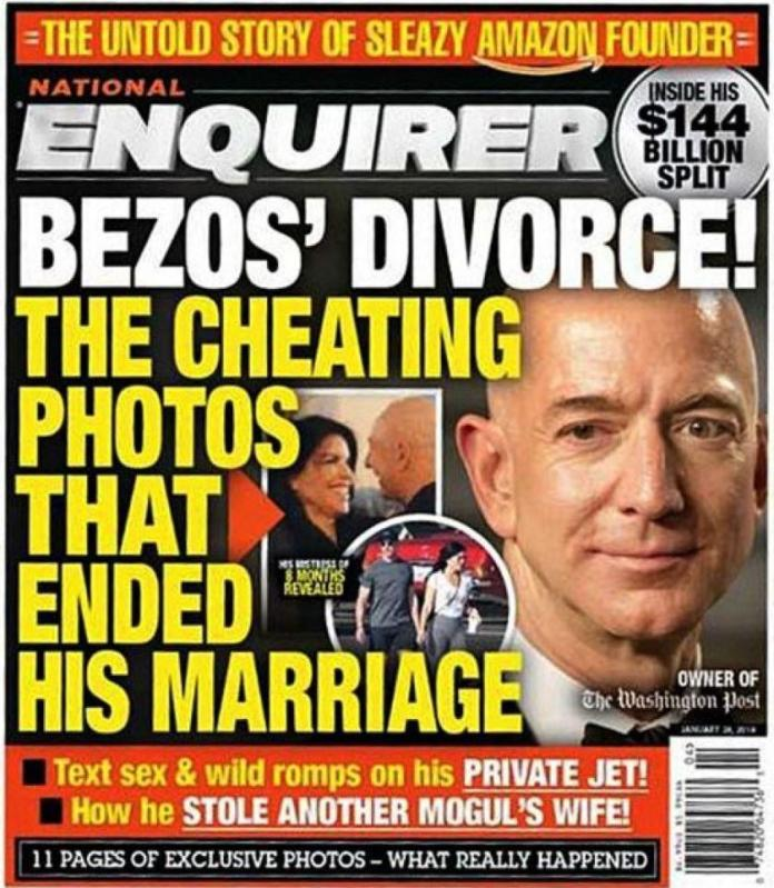 World Richest Man, Jeff Bezos, Accuses Magazine Of Trying To Blackmail Him Over Affair With Mistress 3