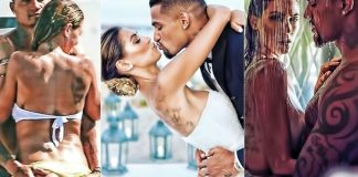 Kevin-Prince Boateng and Melissata Boateng