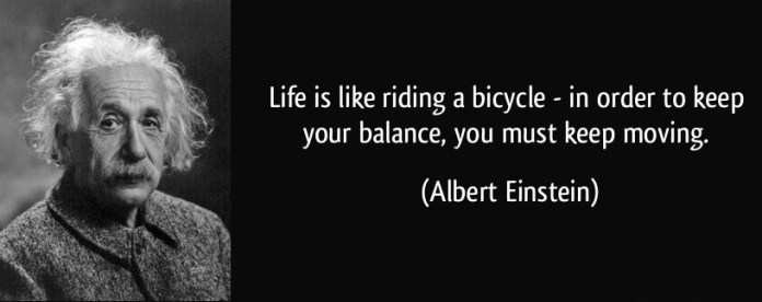 Koko Quotes: Life Is Like Riding A Bicycle 1