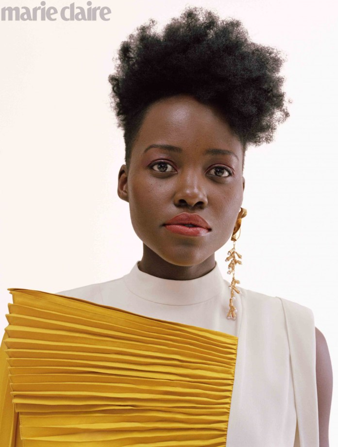 Lupita Nyong'o Is A Sight To Behold On The Cover Of Marie Claire's Latest Issue 4