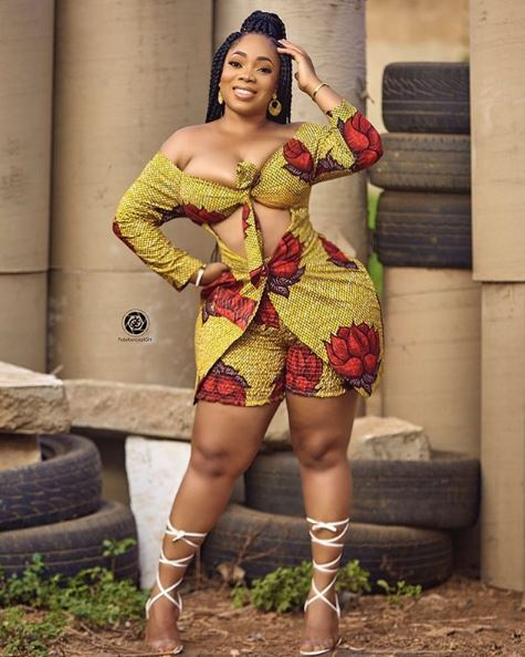 Smouldering! Moesha Boduong Flaunts Enviable Curves In New Sultry Images 1