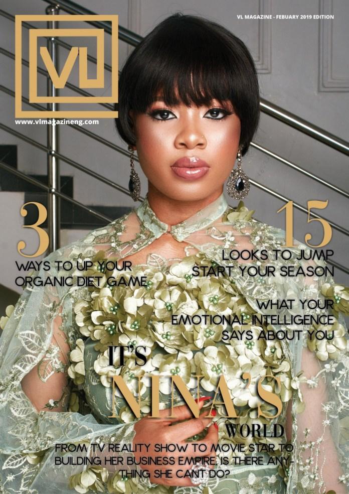 BBNaija's Nina Covers Latest Issue Of VL Magazine 1
