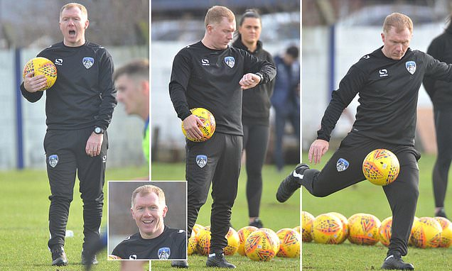 Paul Scholes Appointed Oldham Manager 3