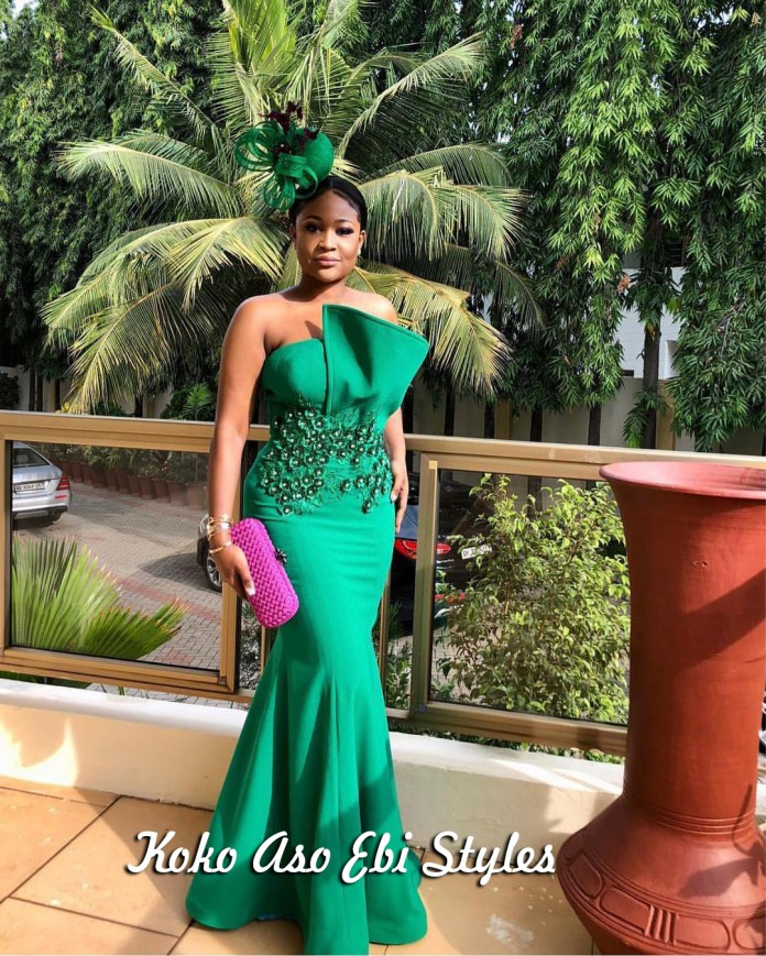 Aso-ebi Style: Five Stunning Wedding Guest Outfits That Are Totally Exquisite 3