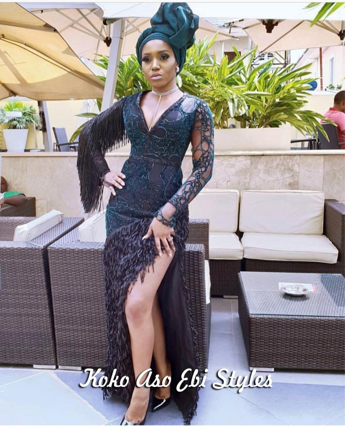 Aso-ebi Style: Five Stunning Wedding Guest Outfits That Are Totally Exquisite 4