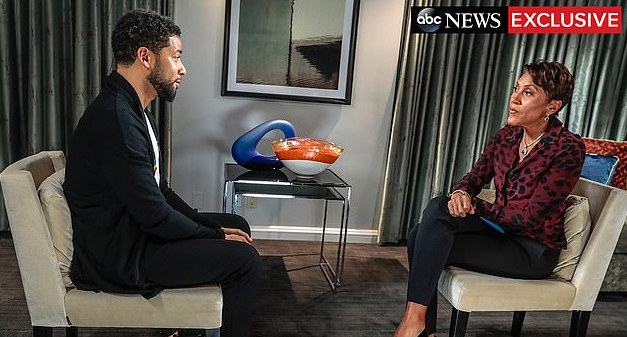 Jussie Smollett Breaks Down In Tears During First Interview After Attack 4