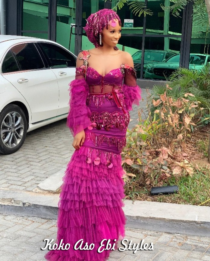 Aso Ebi Slay: These Five New Styles Are A Definite Show-Stopper 4