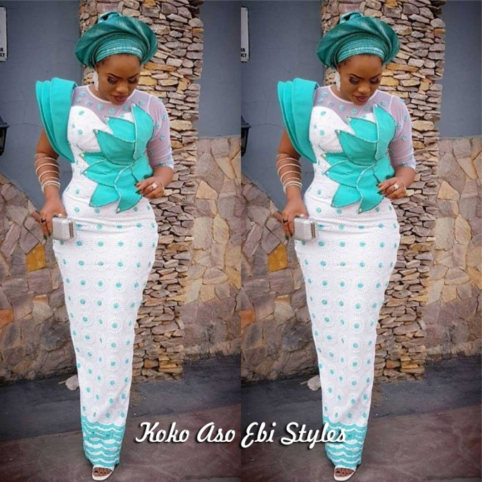 Aso-Ebi Style: See These Five Eccentric Aso-Ebi Styles That Are Sure To Turn Heads At Owanbes 1
