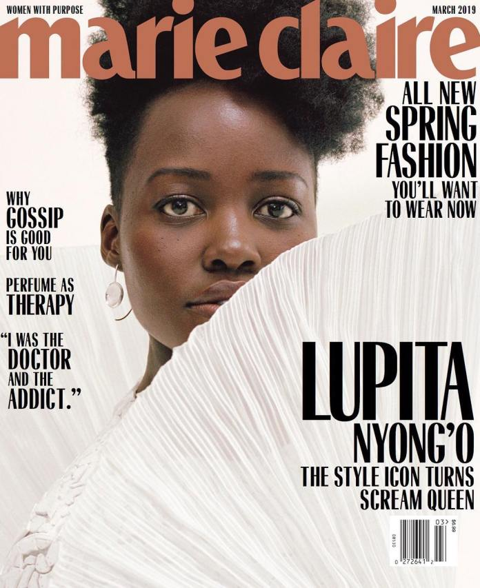 Lupita Nyong'o Is A Sight To Behold On The Cover Of Marie Claire's Latest Issue 5