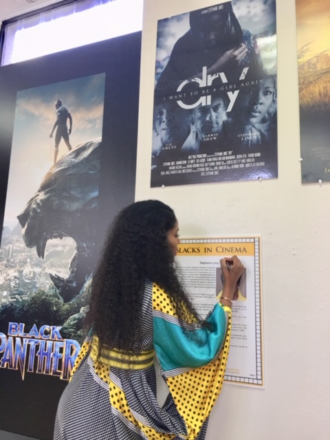 Stephanie Linus Gets Special Recognition For DRY At The Black History Month Ahead of Pan African Film & Arts Festival (PAFF) Screening 3