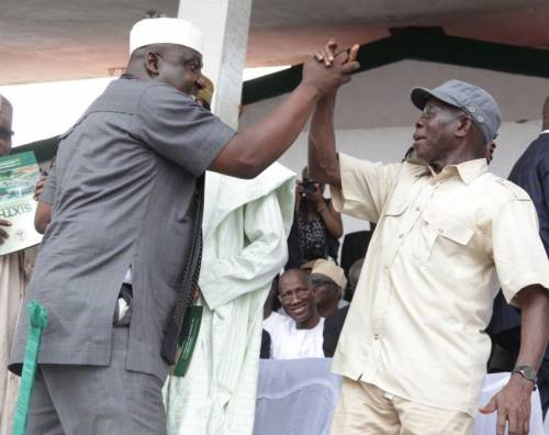 Shots Fired!!! Oshiomhole Is The Greatest Player Of Anti-Party Politics In APC- Rochas Okorocha 1