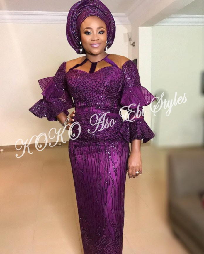 Five Utterly Stunning Aso-ebi Styles That Are Perfect For Your Next Owanbe 1