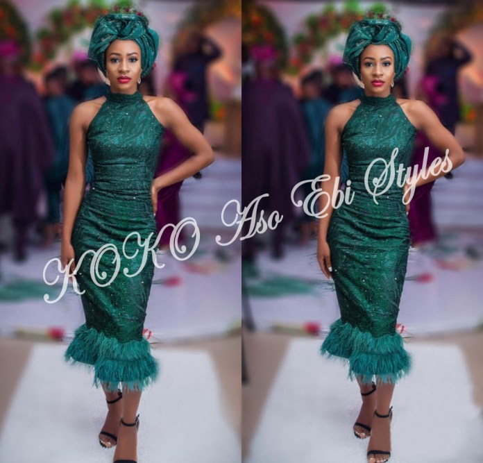 Bold And Beautiful! Five Aso-ebi Styles That Makes Daring Fashion Statements 4