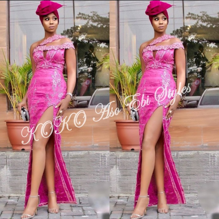 Five Extremely Fabulous Long Aso Ebi Styles That Will Leave You Swooning 5