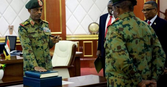 Sudan Coup Leader Steps Fown A Day After Overthrowing President Omar al-Bashir 2