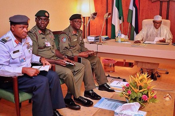 'We Are Not Trying To Overthrow Buhari'- Nigerian Military Says As They Condemn The 'Demonic' Rumour 4