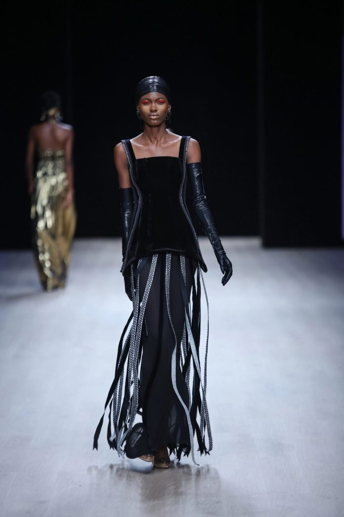 Edgy And Chic! CLAN New Collection At ARISE Fashion Week 2019 11