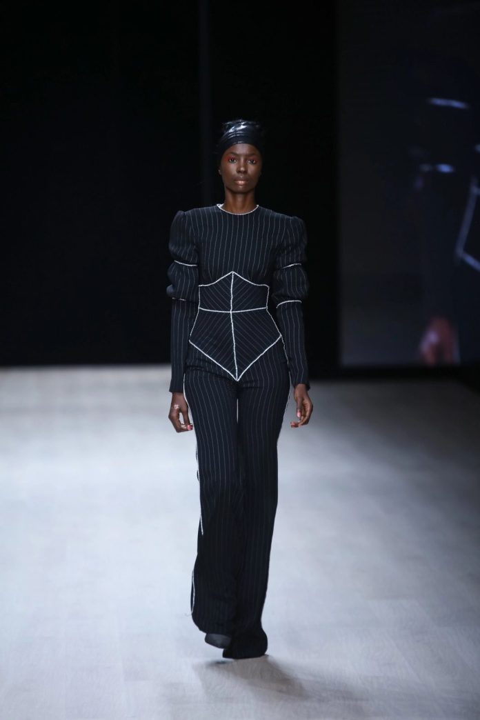Edgy And Chic! CLAN New Collection At ARISE Fashion Week 2019 13