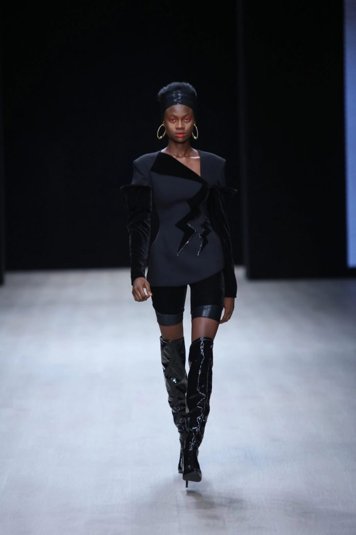 Edgy And Chic! CLAN New Collection At ARISE Fashion Week 2019 2