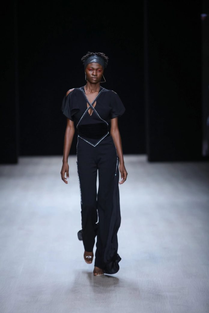 Edgy And Chic! CLAN New Collection At ARISE Fashion Week 2019 4