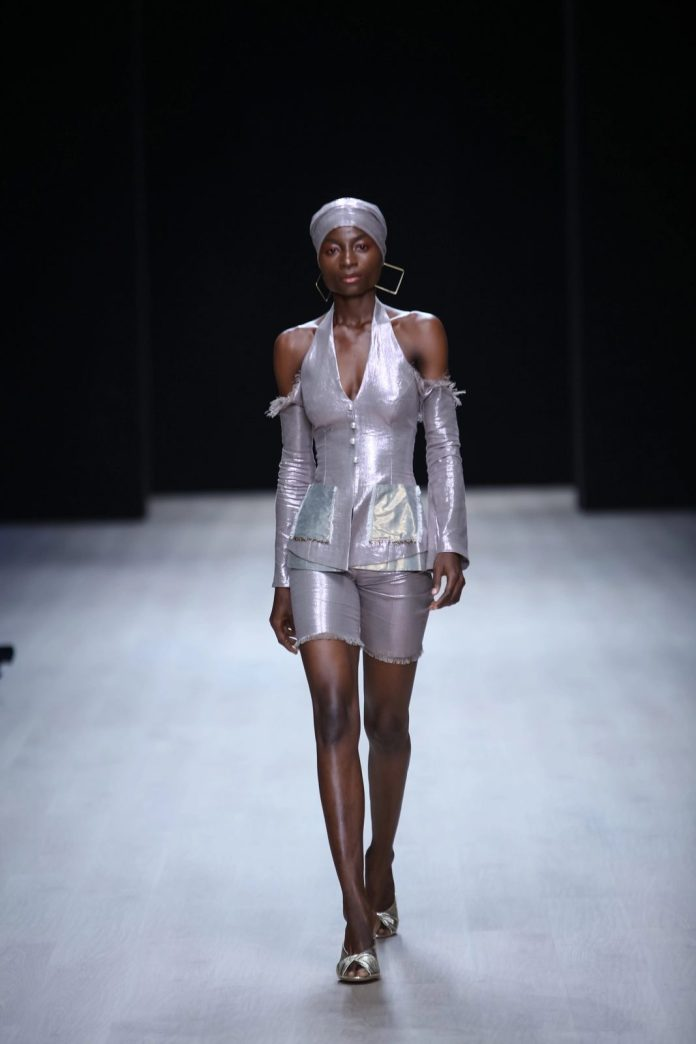 Edgy And Chic! CLAN New Collection At ARISE Fashion Week 2019 8
