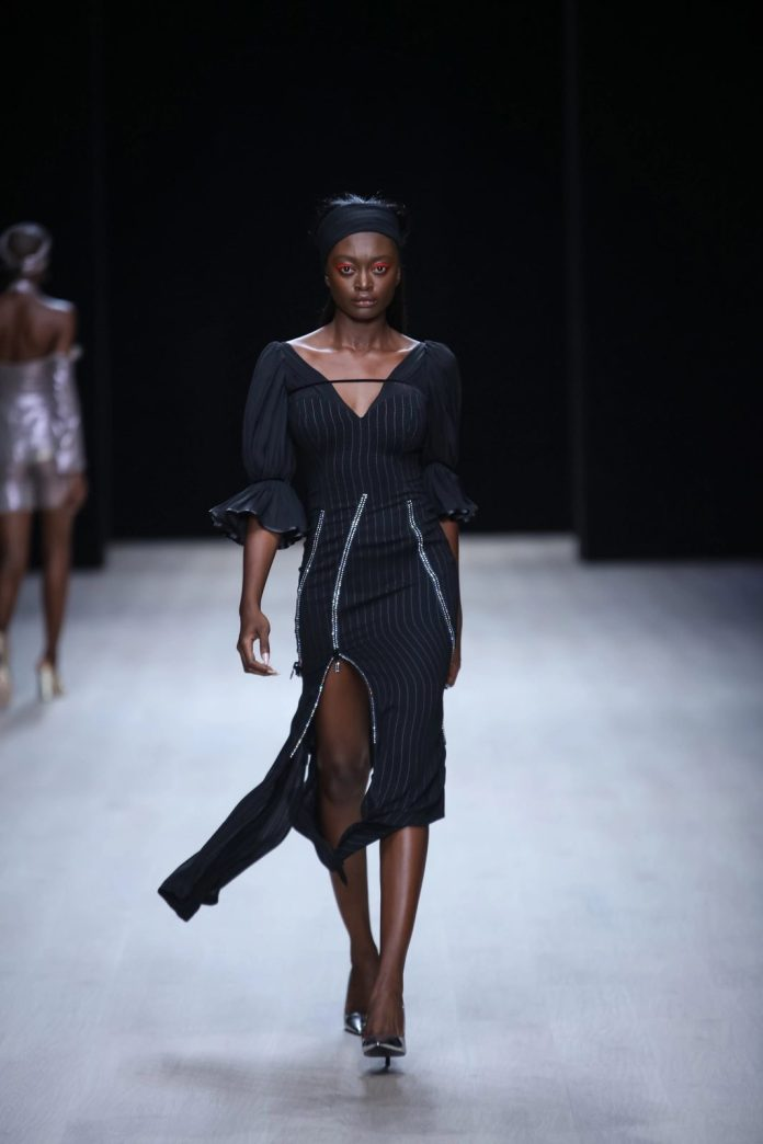 Edgy And Chic! CLAN New Collection At ARISE Fashion Week 2019 9