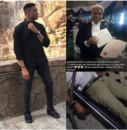 Sad! Corper Dies After Falling From Danfo In Lagos 1
