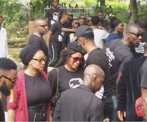 #SARsKilling: Tears And Pains As Kolade Johnson Is Buried In Lagos 2