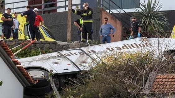 Madeira Bus Crash: 28 Dead As Coach Overturns On Portuguese Island 1